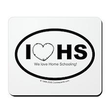 I love homeschooling Mousepad