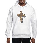 Cross Hooded Sweatshirt