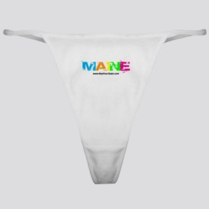 Colorful Maine Classic Thong
