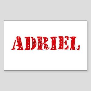 Adriel Rustic Stencil Design Sticker