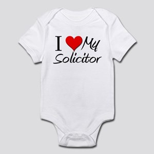 I Heart My Solicitor Infant Bodysuit