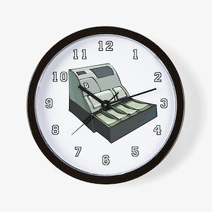 Cashier Wall Clock