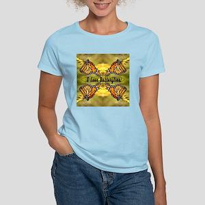 I Love Butterflies Women's Light T-Shirt