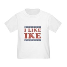 I Like Ike Toddler T-Shirt
