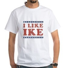 I Like Ike White T-Shirt