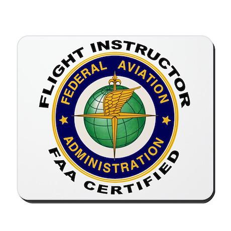 FAA Certified Flight Instructor Mousepad