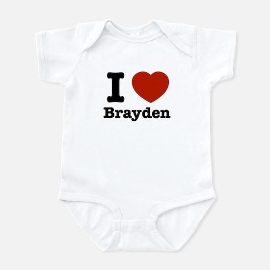 I love Brayden Infant Bodysuit