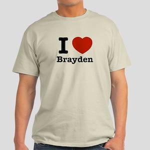 I love Brayden Light T-Shirt