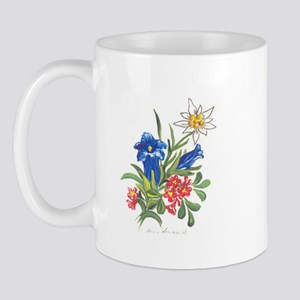 Alpine Flowers Mug