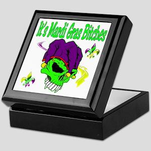 It's Mardi Gras Bitches Keepsake Box