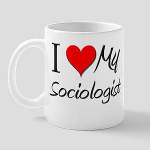 I Heart My Sociologist Mug