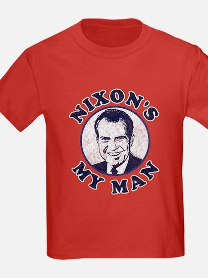 Nixon's My Man T-Shirt T