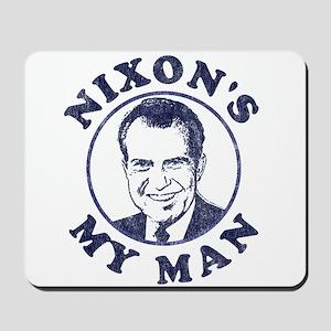 Nixon's My Man T-Shirt Mousepad