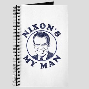 Nixon's My Man T-Shirt Journal