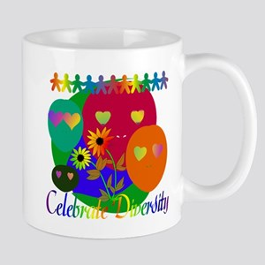 Celebrate Diversity Stainless Steel Travel Mugs