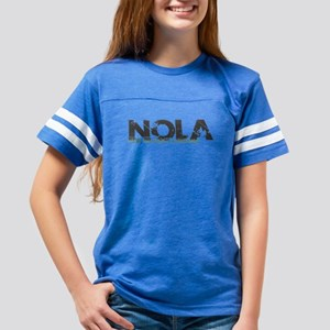 NOLA New Orleans Turquoise Gray T-Shirt