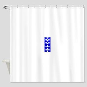 Cobalt Blue Perception 4Oliver Shower Curtain