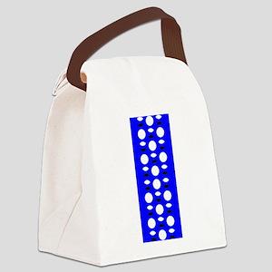 Cobalt Blue Perception 4Oliver Canvas Lunch Bag
