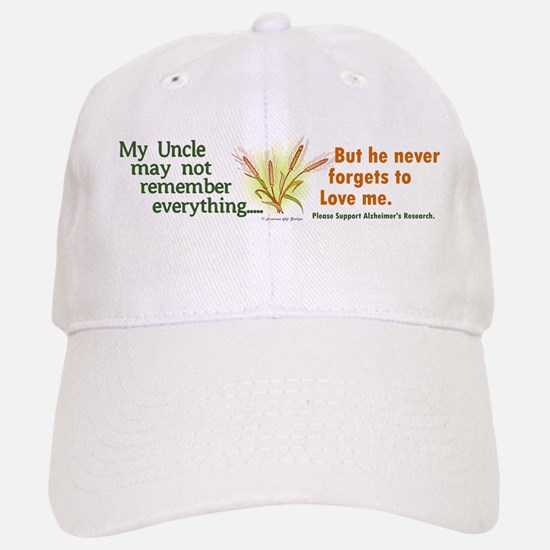 Never Forgets To Love 2 (Uncle) Baseball Baseball Cap
