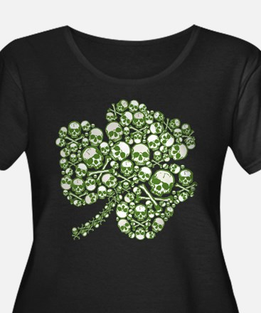 Shamrock Skull St Patricks Day T