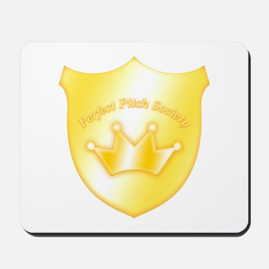 Perfect Pitch Socety Badge Mousepad