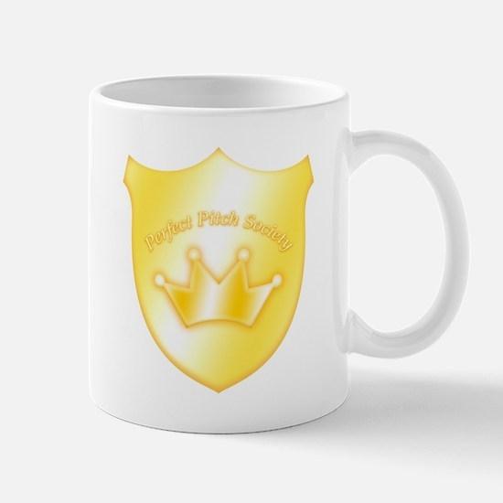 Perfect Pitch Society Badge Mug