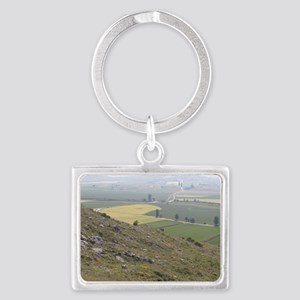 View of Camino Trail from Mesa Landscape Keychain