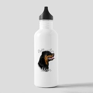 Rottweiler Mom Stainless Water Bottle 1.0L