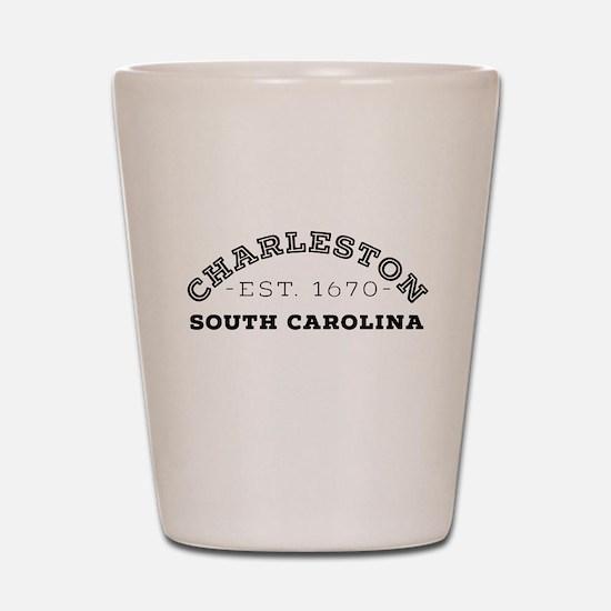 Charleston South Carolina Shot Glass
