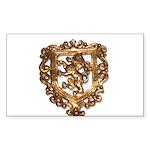 Crest Sticker (Rectangle)