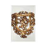 Crest Rectangle Magnet (10 pack)