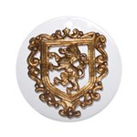 Crest Ornament (Round)