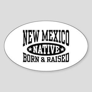 New Mexico Native Sticker (Oval)