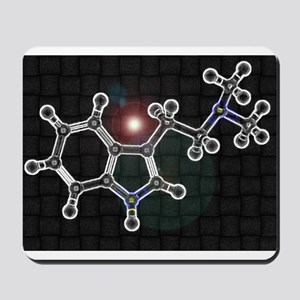 DMT molecule Mousepad