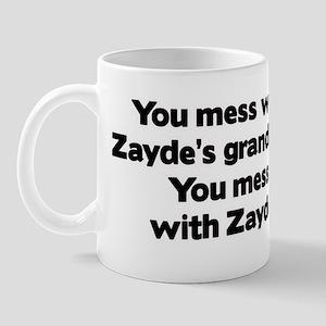 Don't Mess with Zayde's Grandkids! Mug