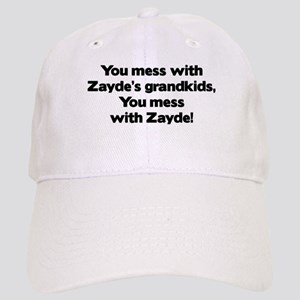 Don't Mess with Zayde's Grandkids! Cap