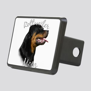 Rottweiler Mom Rectangular Hitch Cover