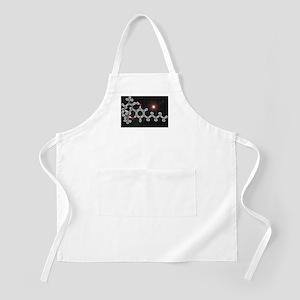 THC molecule BBQ Apron