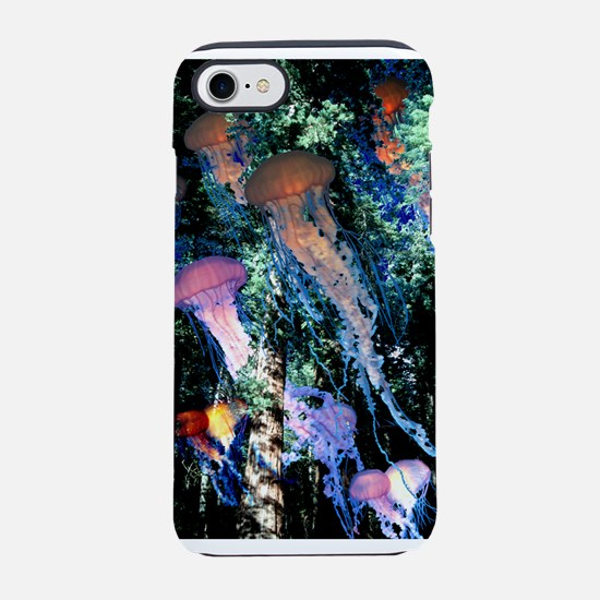 jellyfish forest.png iPhone 8/7 Tough Case