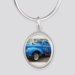 Drag Racing car Necklaces