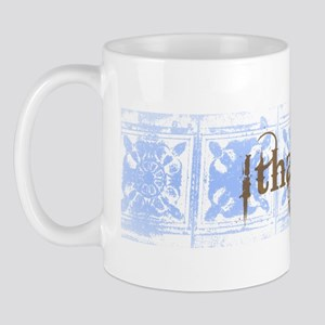 Ithaca New York Vintage T-shi Mug
