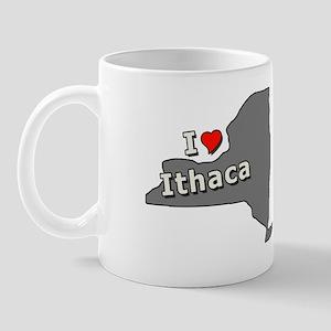 I Heart Ithaca New York Tees Mug