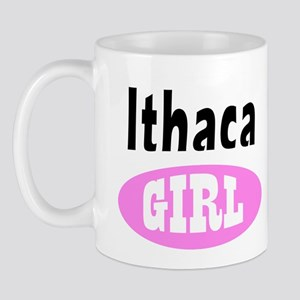 Ithaca New York Girl Mug