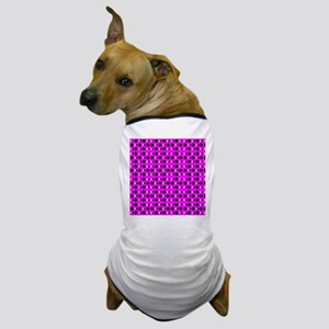 Pink Groovy Shapes 4Michelle Dog T-Shirt