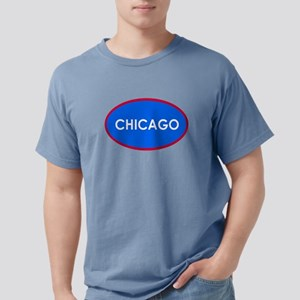 Chicago Light Blue Simple T-Shirt