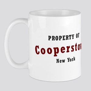 Property of Cooperstown NY T- Mug