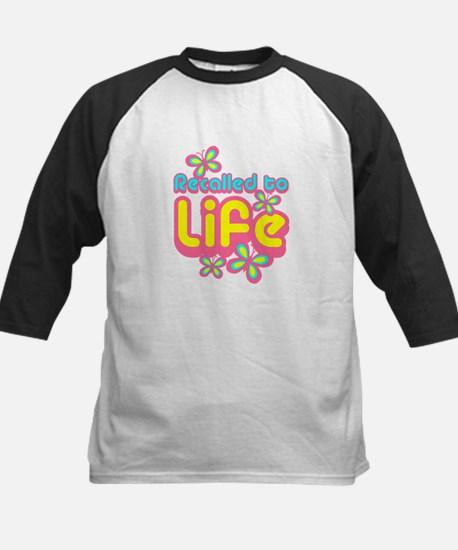 Recalled to Life Kids Baseball Jersey