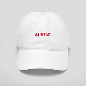 Austin Rustic Stencil Design Cap
