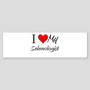 I Heart My Selenologist Bumper Sticker