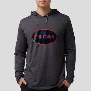 CHI TOWN Blue Stone Long Sleeve T-Shirt